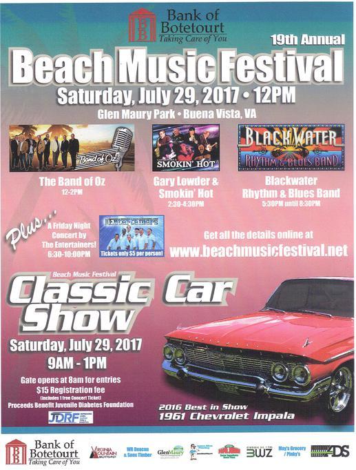 Glen Maury Park Car Show